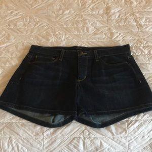 Joe's, Jean shorts, dark blue denim